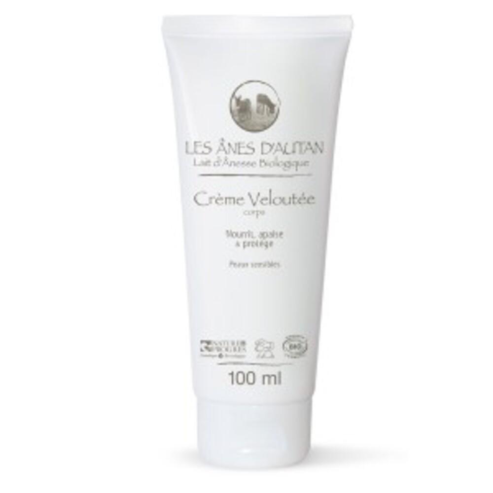 Lait hydratant visage et corps bio au lait d'ânesse - 100.0 g - cosmétique au lait d'ânessse - les ânes d'autan -6417