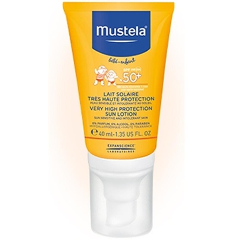 Mustela lait solaire spf50+ spécial visage - 40ml - 40.0 ml - mustela -  Achat au meilleur prix 6677a31586fc