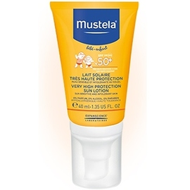 Lait solaire spf50+ spécial visage - 40ml - 40.0 ml - mustela -146471