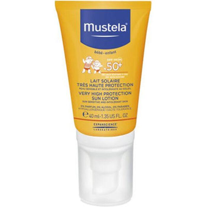 Lait solaire très haute protection spf50+ 40ml Mustela-229180