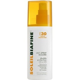Lait spray solaire spf30 - 200.0 ml - solaire - soleilbiafine -11818