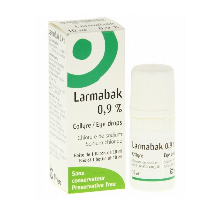 Larmabak 0,9% collyre Thea-192289