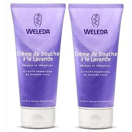 Lavande crème de douche - lot de 2 - 200.0 ml - crèmes de douche - weleda -16482