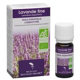 Lavande fine bio - 10.0 ml - les huiles essentielles bio - dr. valnet Anti-microbien - calmant-15155