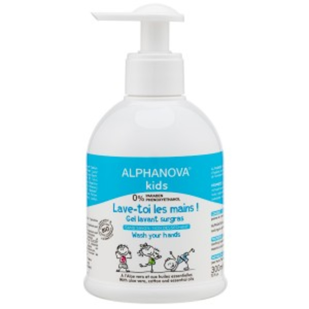 Lave toi les mains bio - 300 ml - divers - alphanova -188685