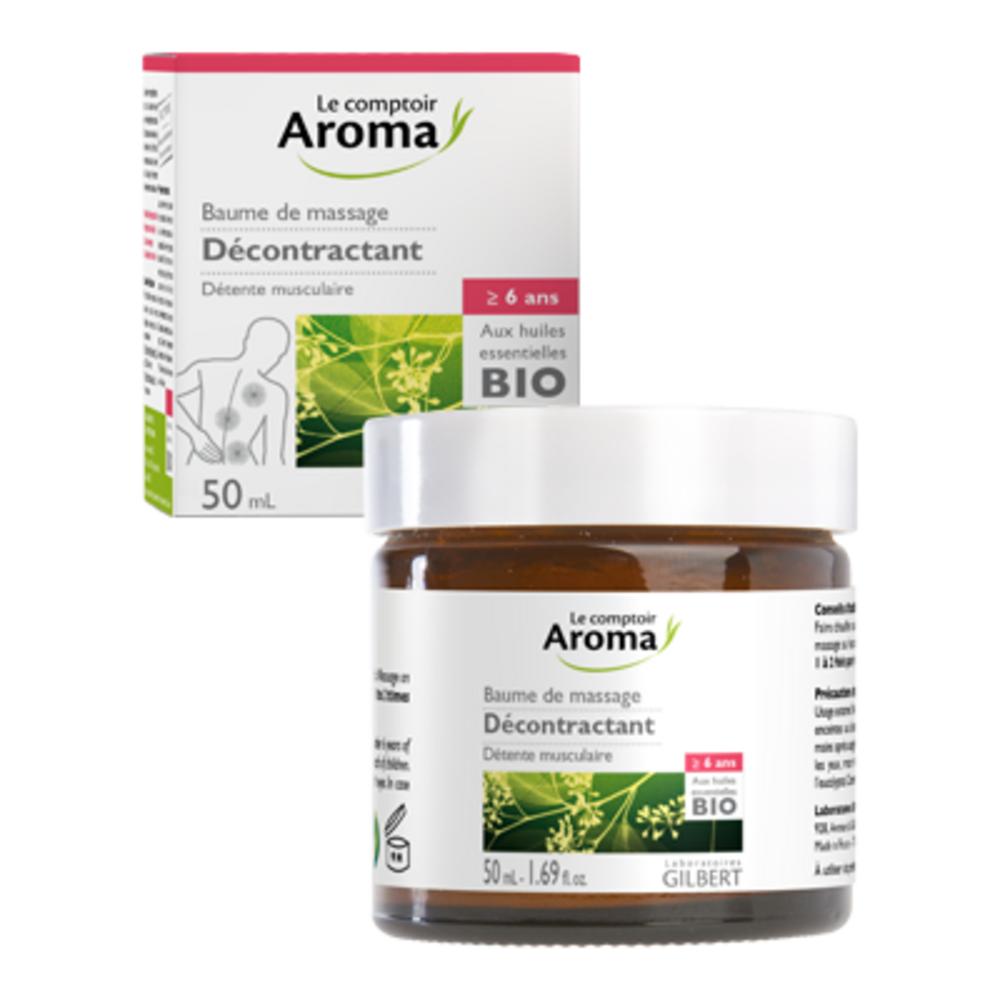 Le comptoir aroma baume de massage décontractant 50ml - le comptoir aroma -222026