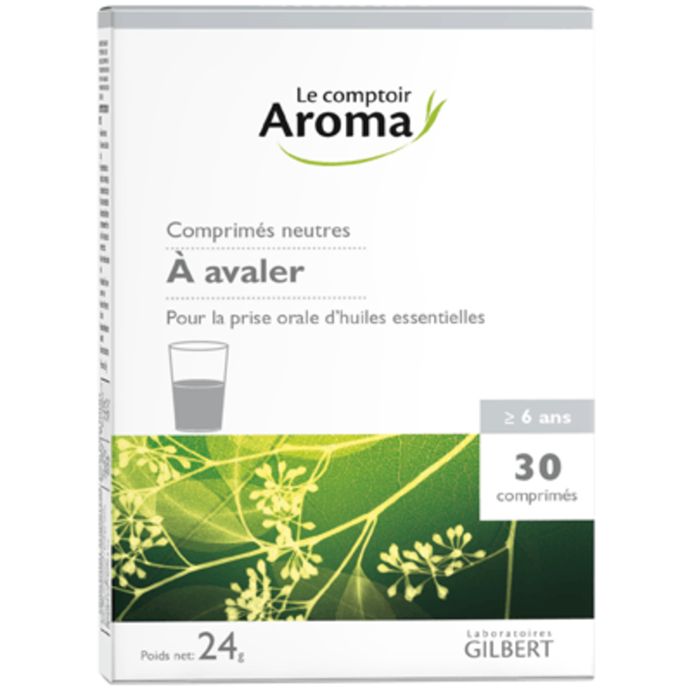 Le comptoir aroma comprimés neutres 30 comprimés - le comptoir aroma -222050