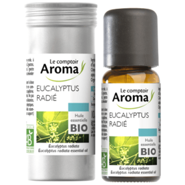 Le comptoir aroma huile essentielle bio eucalyptus radié 10ml - le comptoir aroma -221998