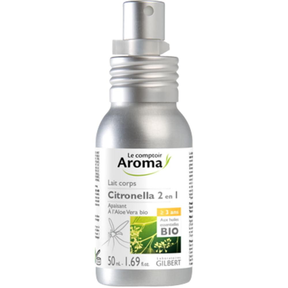 Le comptoir aroma lait corps citronella 2 en 1 100ml - le comptoir aroma -222035
