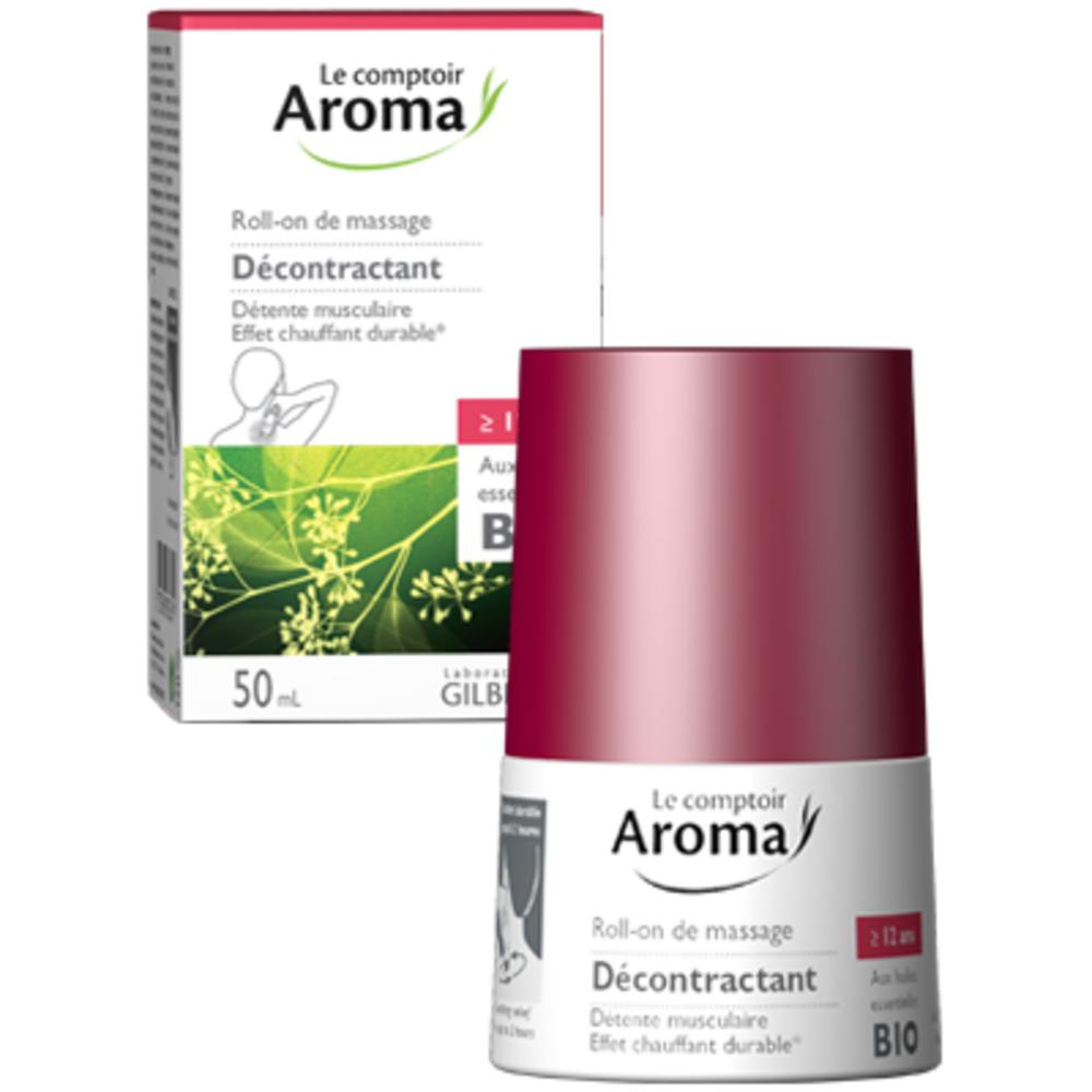 Le comptoir aroma roll-on de massage décontractant 50ml Le comptoir aroma-222037
