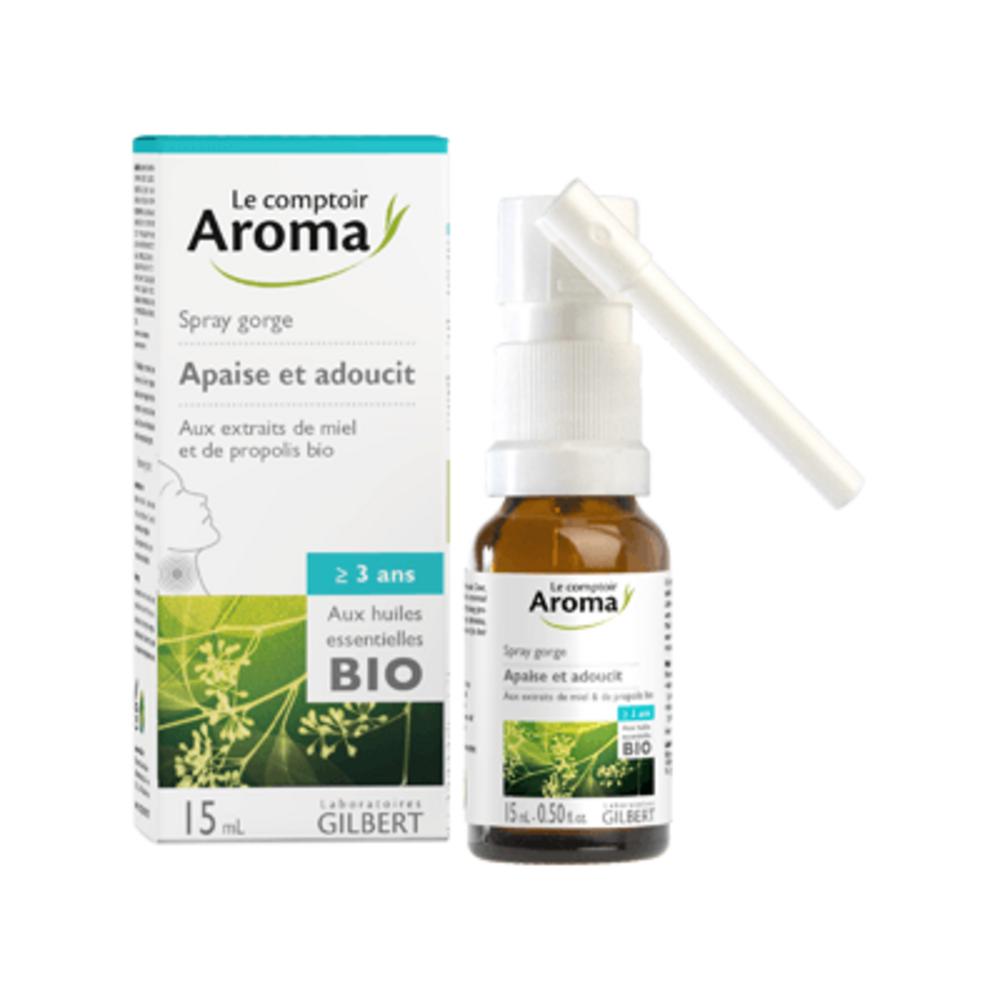 Le comptoir aroma spray gorge 15ml - le comptoir aroma -222042
