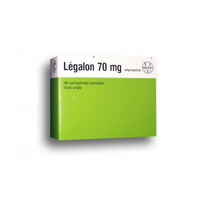 Legalon 70mg - 40 comprimés Laboratoires rottapharm-193070