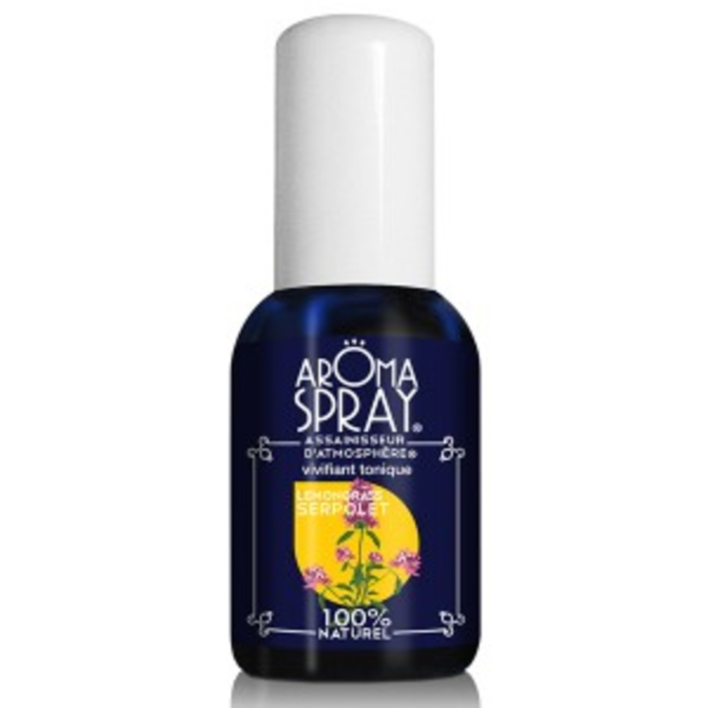 Lemongrass serpolet - vaporisateur 30 ml - divers - aromaspray -133542