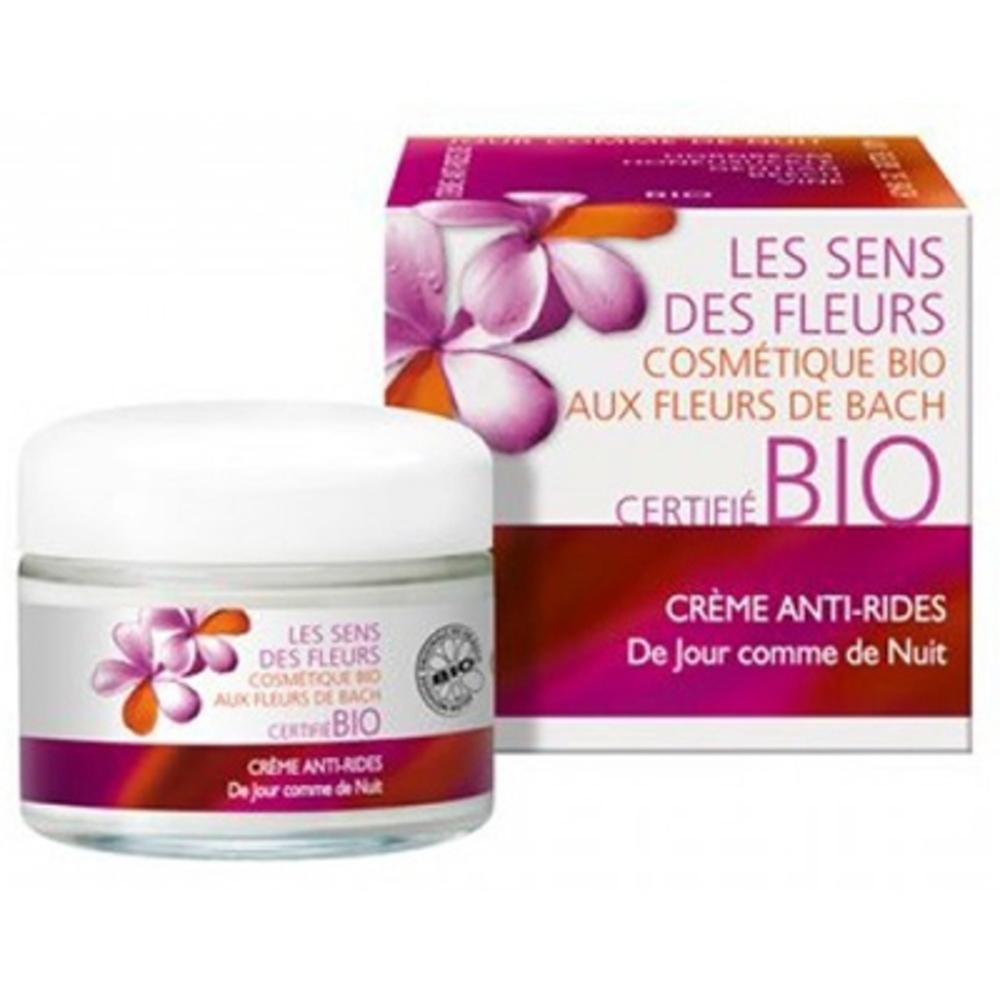 Les sens des fleurs crème anti-rides - 50.0 ml - sens fleurs au beurre de babassu et à l'huile d'argane-9875