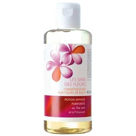 Les sens des fleurs potion biphase purifiante - 200.0 ml - sens fleurs au thé vert et à l'urucum-9877