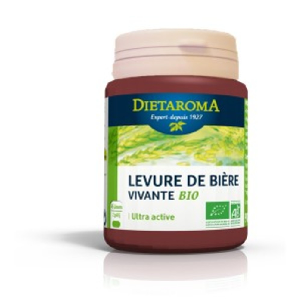 Levure de bière vivante BIO - 90 gélules - divers - Diétaroma -142023