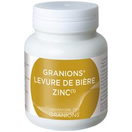 Levure de bière + zinc 60 gélules - granions -216318