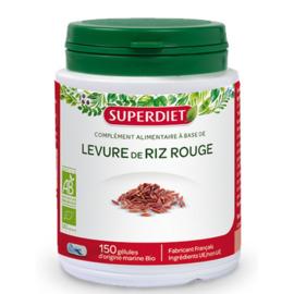 Levure de riz rouge - 150.0 unites - les super nutriments - super diet -125771