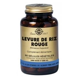 Levure de riz rouge - 60.0 unites - nutriments végétaux - solgar -140980