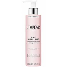 Lierac double nettoyant lait micellaire 200ml - lierac -214612