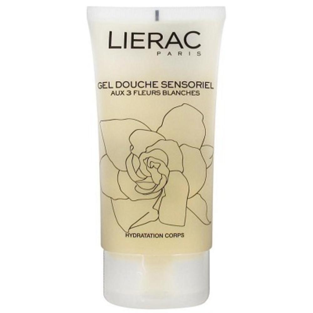 Lierac gel douche sensoriel aux 3 fleurs - 150.0 ml - les sensorielles - lierac -122596