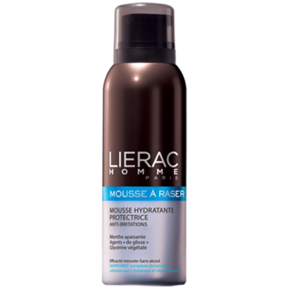 Lierac homme mousse à raser - 150.0 ml - lierac Mousse hydratante anti-irritations-1786