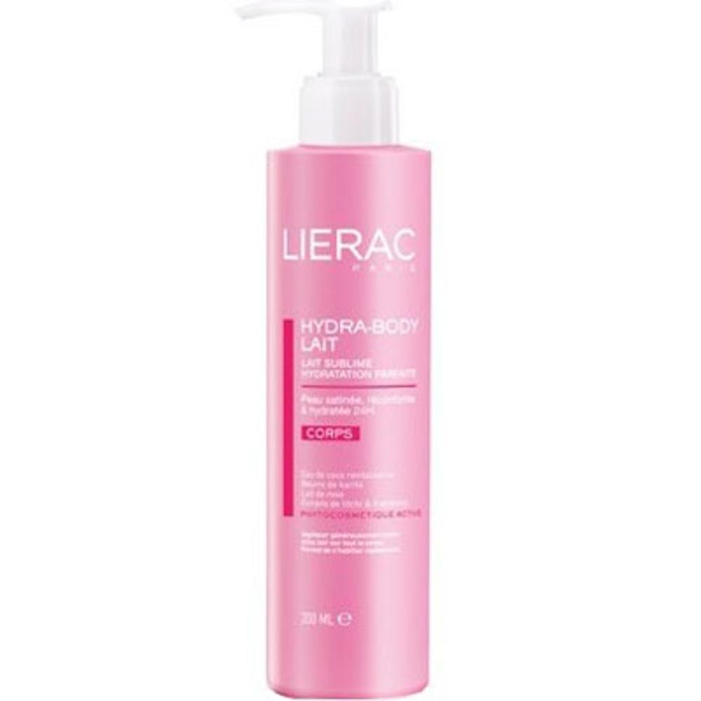 Lierac hydra-body lait - 200.0 ml - hydra chrono - lierac Lait sublime hydratation parfaite-139241