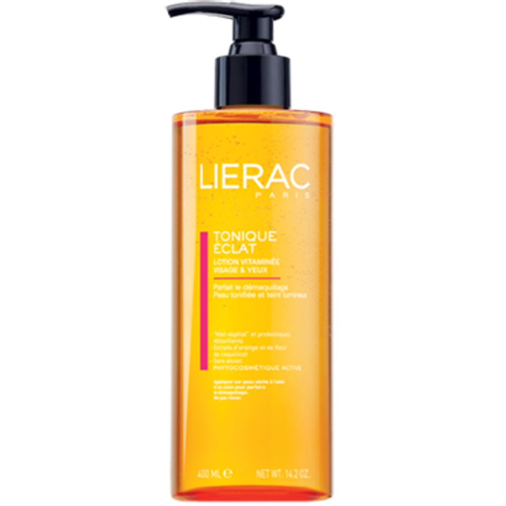 Lierac lotion tonique eclat - flacon-pompe 400ml - 400.0 ml - démaquillants - lierac -128330