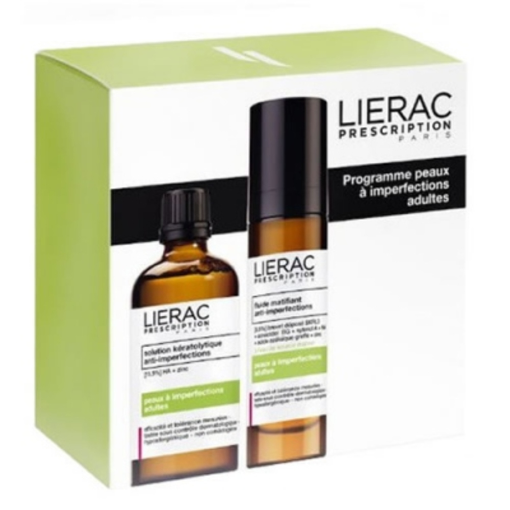Lierac prescription coffret peaux imperfections adultes - lierac prescription -200710