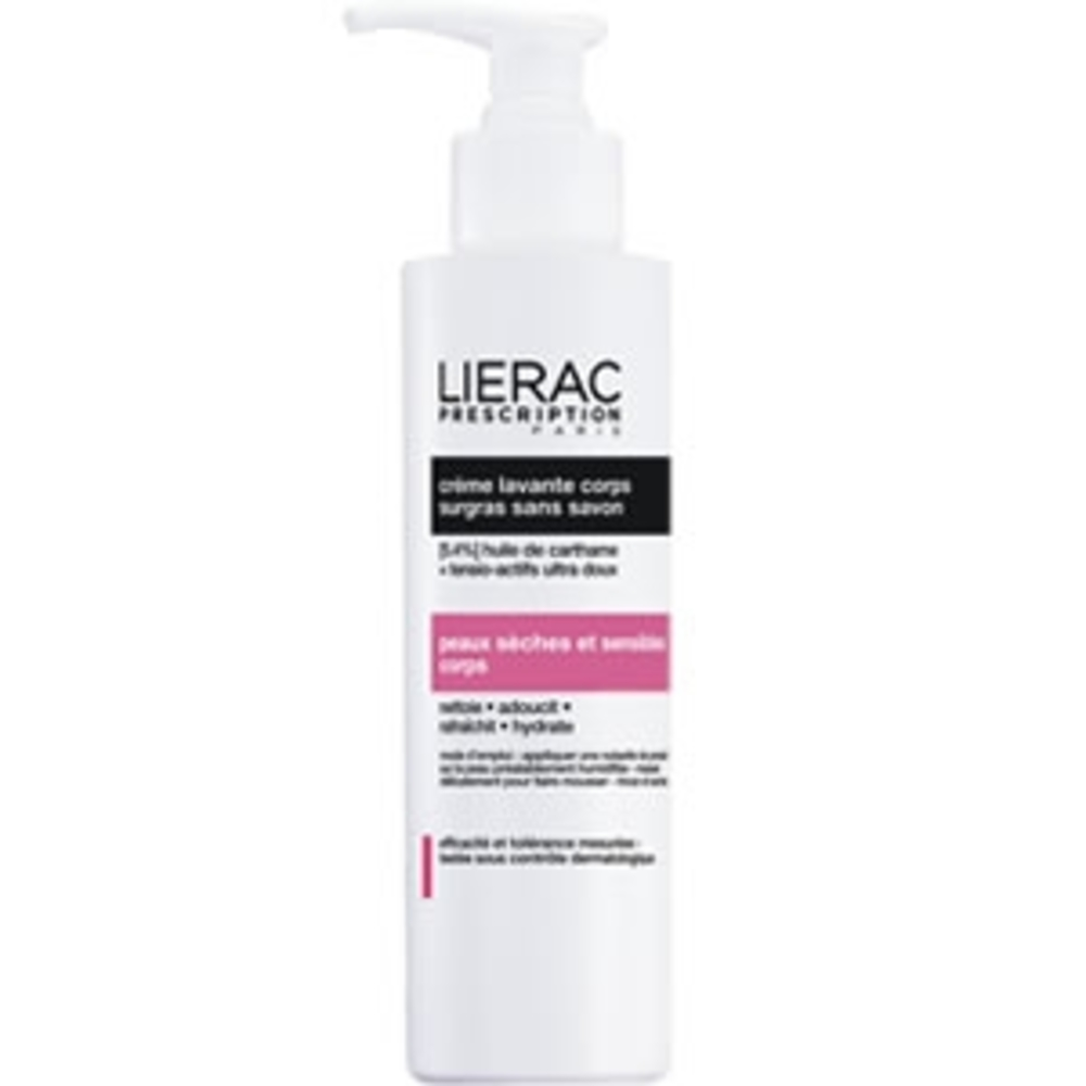 Lierac prescription crème lavante corps - 200.0 ml - lierac prescription -139268