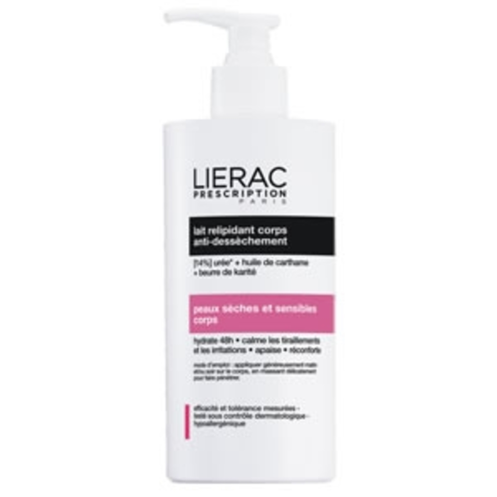 Lierac prescription lait relipidant corps - 400ml - 400.0 ml - lierac prescription -139267