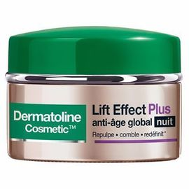 Lift effect plus anti-age global nuit 50ml - dermatoline cosmetic -215505