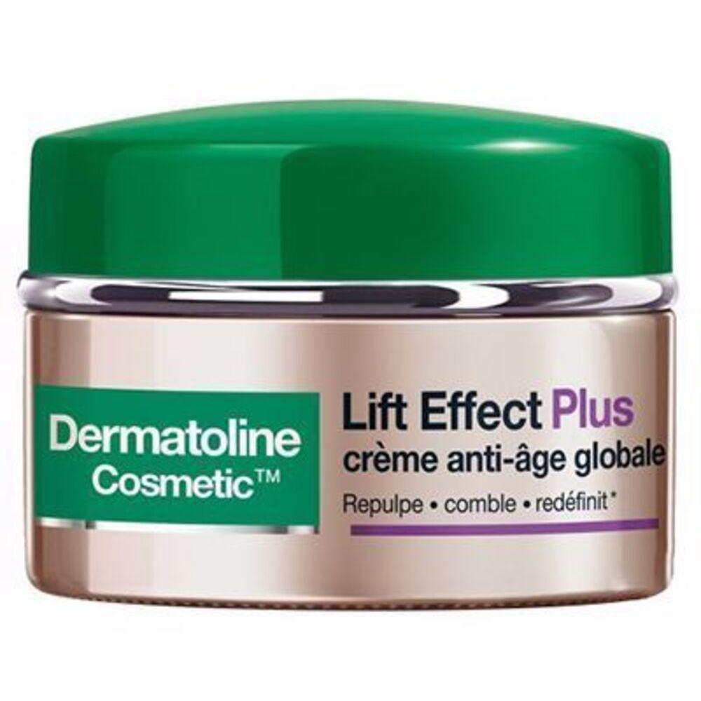 Lift effect plus crème anti-age peaux matures normales 50ml - dermatoline cosmetic -215508