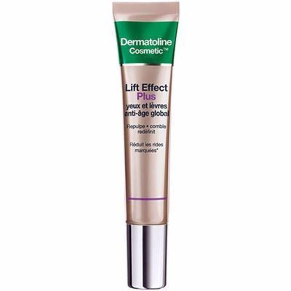 Lift effect plus yeux et lèvres anti-age 15ml - dermatoline cosmetic -215507