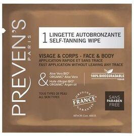 Lingette autobronzante - preven's -211799