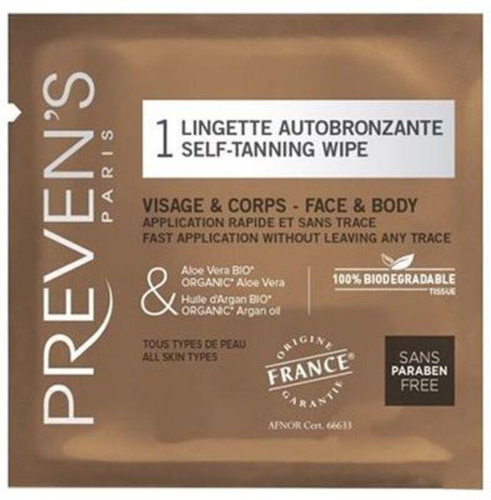 Lingette autobronzante Preven's-211799