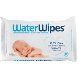 Lingettes bébé 100% naturelles pack de 60 - waterwipes -220860