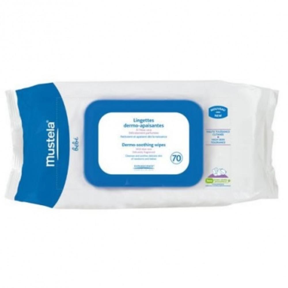 Lingettes nettoyantes peau normale x70 - 70.0  - mustela -149847