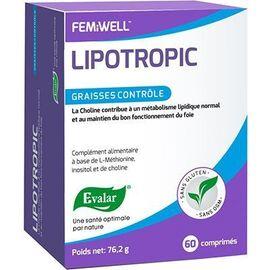 Lipotropic 60 comprimés - evalar -226076