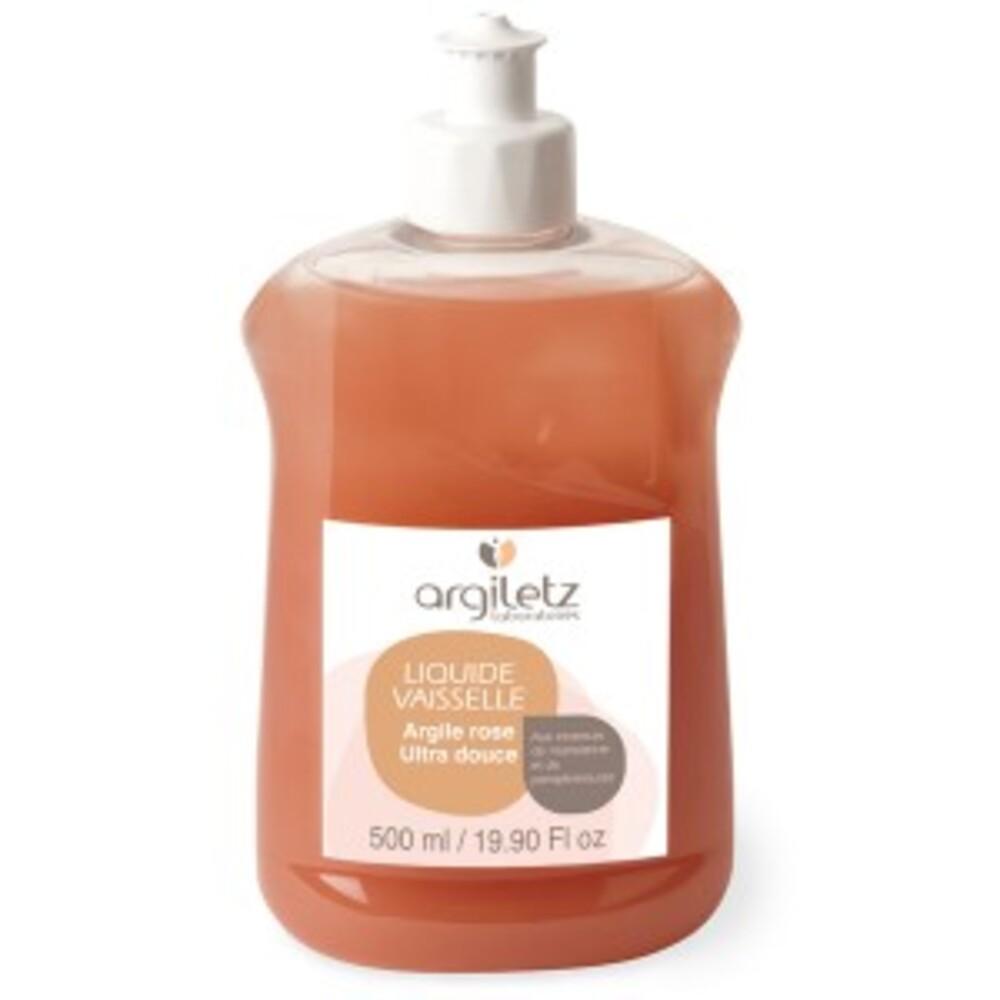 Liquide vaisselle mandarine / pamplemousse à l'argile rose -... - 500.0 ml - maison - argiletz -133490