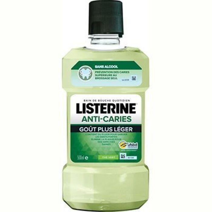 Listerine anti-caries thé vert 500ml Listérine-226112