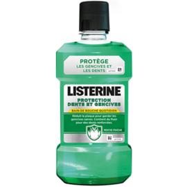 Listerine bain bouche protection dents gencives 500ml promo -1€ - listérine -220585