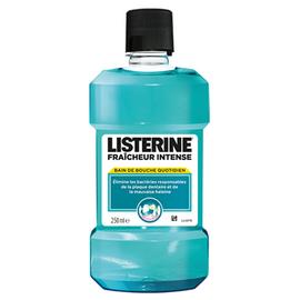 Listerine fraîcheur intense - 250ml - listérine -200039
