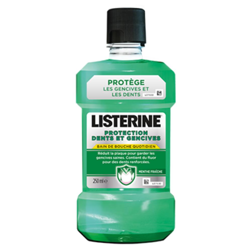 Listerine protection dents et gencives - 250ml - 250.0 ml - gamme généraliste - listérine -141109