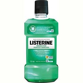 Listerine protection dents et gencives 500ml promo - listérine -226328