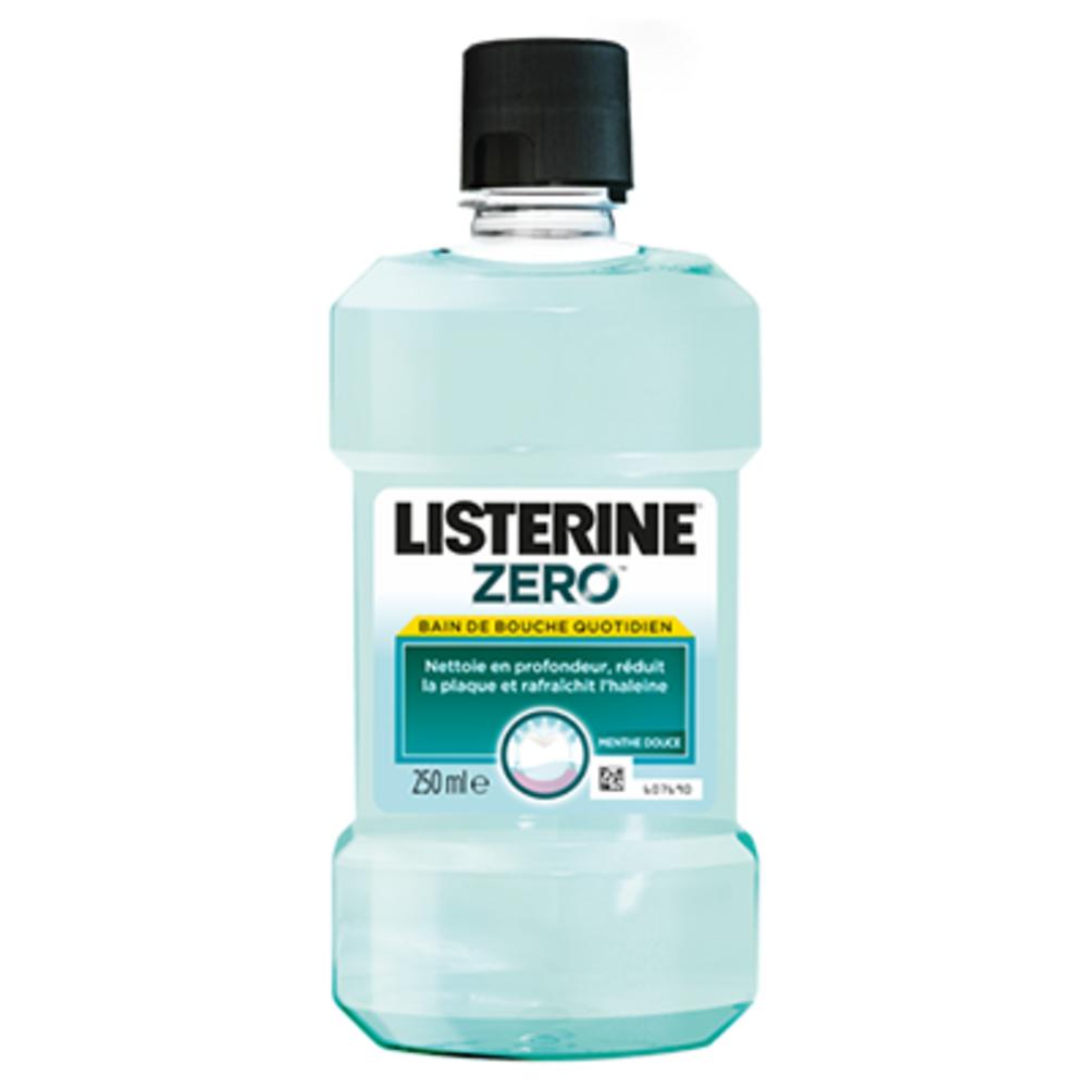 Listerine zero bain de bouche - 250.0 ml - gamme généraliste - listérine -141113