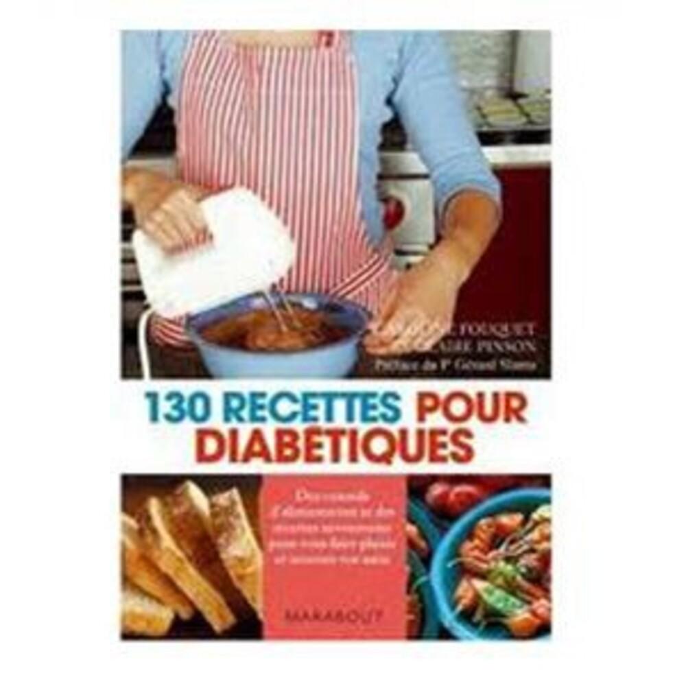 Livre : 130 recettes pour diabétiques - divers - marabout -189512