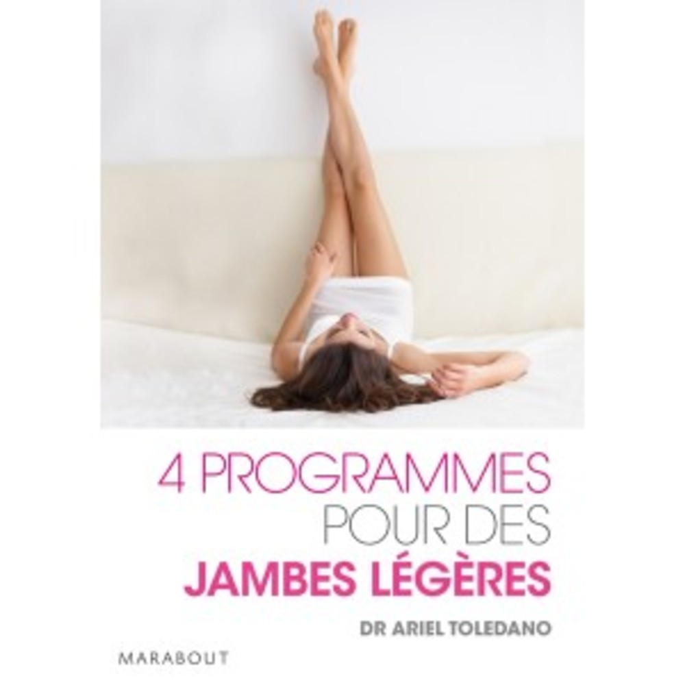 Livre : 4 programmes pour des jambes légères - divers - Marabout -189507