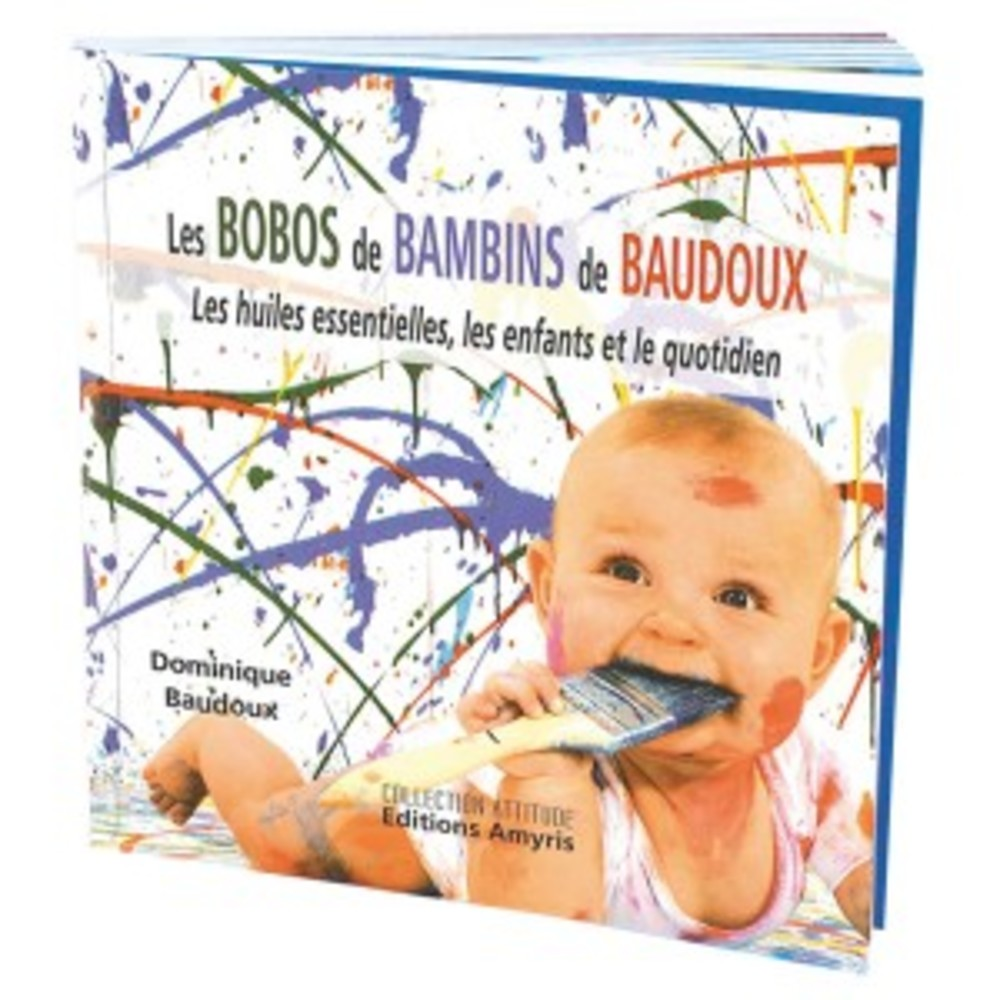 Livre: les bobos de bambins de baudoux - divers - pranarom nature -142548