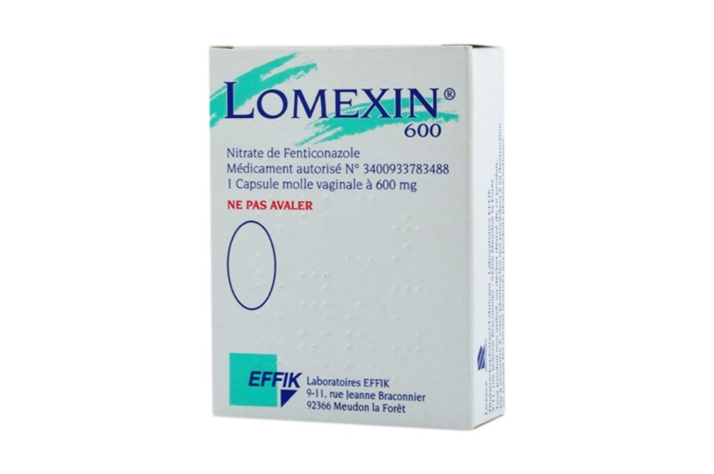 Lomexin 600mg - 1 capsule vaginale - effik -193553